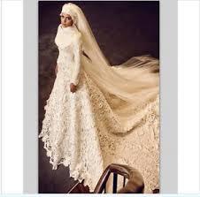 muslim wedding dresses sleeve muslim wedding dress lace arabic bridal gowns custom