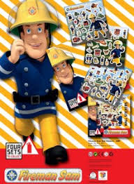 fireman sam stickers classic signs