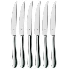 wmf signum steak knives in 6 piece set 12 8251 9990 the home depot
