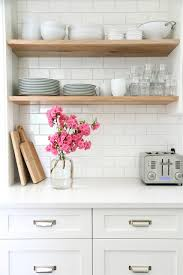 Distressed Wood Shelves by 15 Genius Kitchen Diys You Never Saw Coming Wood Shelf Base