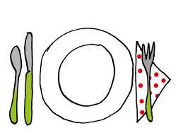 dessin ustensile de cuisine ustensiles de cuisine pas cher 7 dessin assiette et couverts
