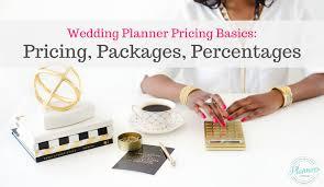 wedding planner pricing wedding planner pricing