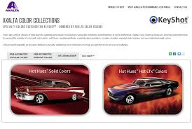 axalta color collections for keyshot rendering software