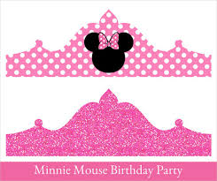 birthday crown template u2013 18 free psd eps design format