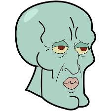 Handsome Face Meme - handsome squidward meme reaction face posters by kingzel redbubble