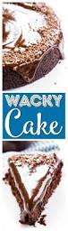 chocolate wacky cake recipe