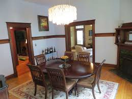 craftsman master bedroom with double door chair rail in hastac 2011