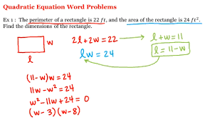math 1a 1b pre calculus quadratic equation word problems uc