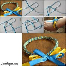 bracelet diy easy images Diy easy ribbon bracelet pictures photos and images for facebook jpg