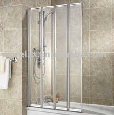 Shower Folding Doors Folding Bathtub Doors Bathroom Design