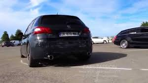 peugeot 308 gti 2016 sound exhaust peugeot 308 gti 2016 youtube