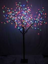 dual colour sequence led cherry blossom tree 1 7m christmas