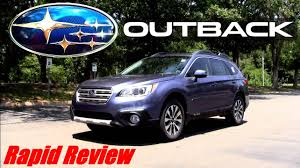 2017 subaru outback 2 5i limited 2016 subaru outback 2 5i limited youtube