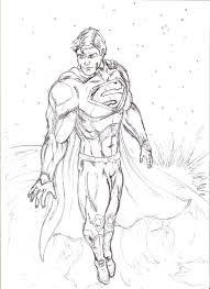 superman sketch 2 by michaellthomas on deviantart