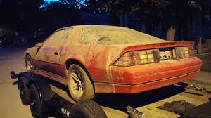 Z Barn 1987 Chevy Camaro Iroc Z Barn Find 10k Miles Killer Original