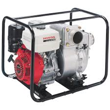 honda self priming construction trash water pump u2014 4in ports