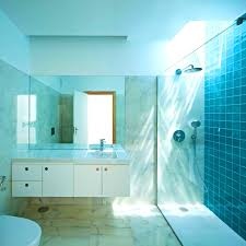 bathroom design gorgeous small space bathroom blue mosaic tiles