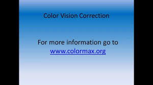 Color Blindness Contacts Contact Lenses For Color Blindness Youtube