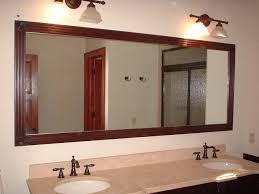 Framed Bathroom Vanity Mirrors by Framed Bathroom Mirrors Ideas Home Interior Design Framing