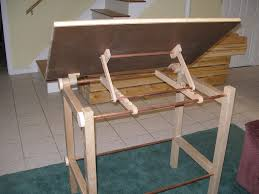 Drafting Table Blueprints Wooden Drafting Table With Drawers Into The Glass Decide To