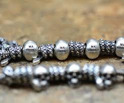 skull bracelet charm images Sterling silver kay jewelers skull mark anthony ma charm memories jpg