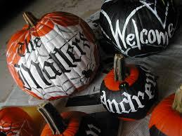 diy decorated halloween pumpkins lettering art studio