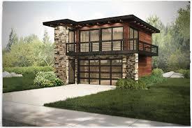 Modern Garage Apartment   garage w apartments with 2 car 1 bedrm 615 sq ft plan 149 1838