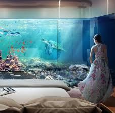 Schlafzimmer Bodentiefe Fenster Floating Seahorses U201c Luxusvilla Mit Unterwasseretage Welt