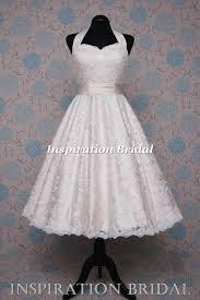 50 S Wedding Dresses 1552 1950s 1960s Halter Neck Short Champange Tea Length Wedding