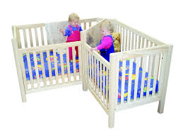 Circle Crib With Canopy by Twin Cribs Beds Made For Twins