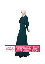 wedding dress muslimah buy bridesmaid dress muslimah malaysia green fitting lace