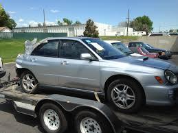 wrx subaru silver 2003 subaru wrx sedan complete part out