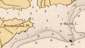 Nc Maps Nathaniel Batts Buried At Sea But Not Originally North