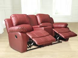 Leather Reclining Sofa With Console by Recliner Furniture 72 2 Seater Recliner Sofa Sale Impressive