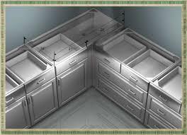 Corner Kitchen Cabinet Designs Kitchen Artistic Corner Kitchen Cabinet With Corner Kitchen