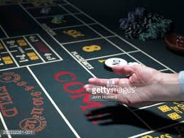 Craps Table The Vintage Gambling Craps Table Stock Photo Getty Images