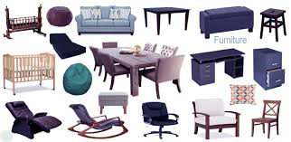 names of furniture learn furniture names with necessary vocabulary meaning image