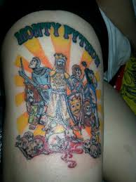 monty python tattoo tattoos pinterest python tattoo and