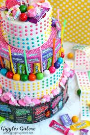 no bake candy birthday cake