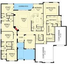 House Plans With Media Room Traditional House Plan With Lower Level Media Room 36510tx