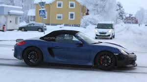 porsche boxster 2015 price porsche boxster spyder allegedly getting 375 hp