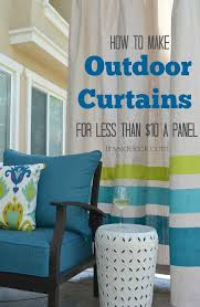 Outdoor Privacy Curtains Diy Outdoor Curtains Tutorial Curtain Tutorial Outdoor Curtains