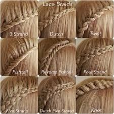 types of hair braids the 25 best different braids ideas on pinterest five strand