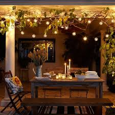 wedding event indoor outdoor patio string lighting led light