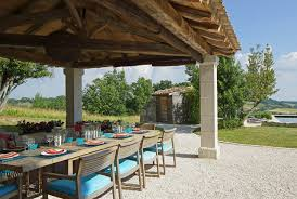 French Country Outdoor Furniture french country house farmhouse patio london by mcquin