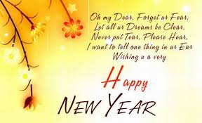 wish you happy new year new year wishing messages