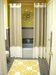 shower curtain ideas for small bathrooms shower curtain ideas tbya co