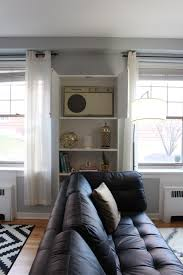Small Bedroom Ac Units Design Evolving Hiding An Ugly Wall Unit Air Conditioner Ikea Hack