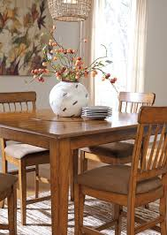 berringer counter table with lazy susan shopac dining d199 13