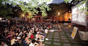 where you can watch movies outdoors for free in montreal this
